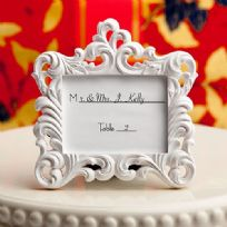 Baroque Style Photo Frame / Place Card Holder